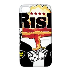 Nuclear Explosion Trump And Kim Jong Apple Iphone 4/4s Hardshell Case With Stand