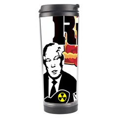 Nuclear Explosion Trump And Kim Jong Travel Tumbler