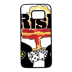 Nuclear Explosion Trump And Kim Jong Samsung Galaxy S7 Black Seamless Case