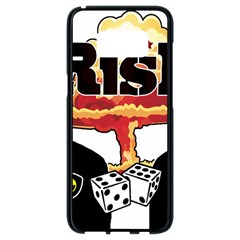 Nuclear Explosion Trump And Kim Jong Samsung Galaxy S8 Black Seamless Case by Valentinaart