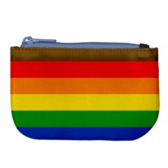 Philadelphia Pride Flag Large Coin Purse by Valentinaart