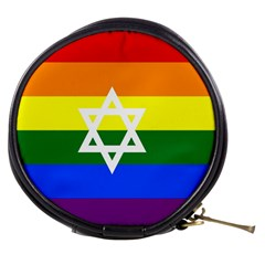 Gay Pride Israel Flag Mini Makeup Bags by Valentinaart