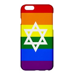 Gay Pride Israel Flag Apple Iphone 6 Plus/6s Plus Hardshell Case by Valentinaart