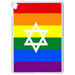 Gay Pride Israel Flag Apple Ipad Pro 9 7   White Seamless Case
