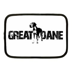 Great Dane Netbook Case (medium)  by Valentinaart