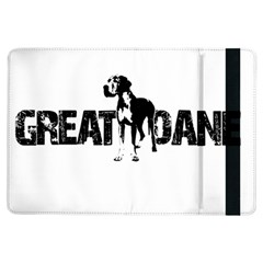 Great Dane Ipad Air Flip by Valentinaart
