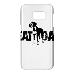 Great Dane Samsung Galaxy S7 Hardshell Case  by Valentinaart