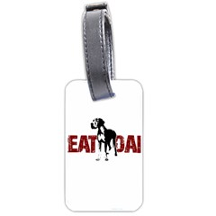Great Dane Luggage Tags (one Side)