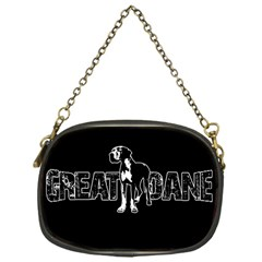 Great Dane Chain Purses (one Side)  by Valentinaart