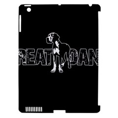 Great Dane Apple Ipad 3/4 Hardshell Case (compatible With Smart Cover) by Valentinaart