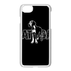 Great Dane Apple Iphone 7 Seamless Case (white)