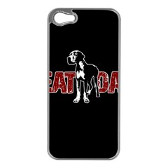 Great Dane Apple Iphone 5 Case (silver)