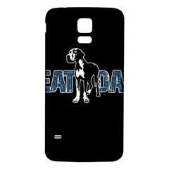 Great Dane Samsung Galaxy S5 Back Case (white)