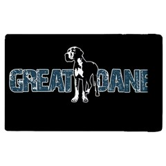 Great Dane Apple Ipad Pro 12 9   Flip Case by Valentinaart