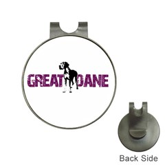 Great Dane Hat Clips With Golf Markers by Valentinaart