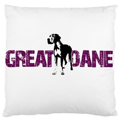 Great Dane Large Cushion Case (two Sides)