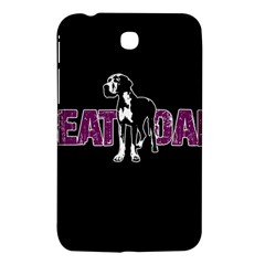 Great Dane Samsung Galaxy Tab 3 (7 ) P3200 Hardshell Case  by Valentinaart