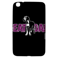 Great Dane Samsung Galaxy Tab 3 (8 ) T3100 Hardshell Case  by Valentinaart