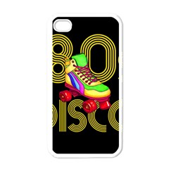 Roller Skater 80s Apple Iphone 4 Case (white) by Valentinaart