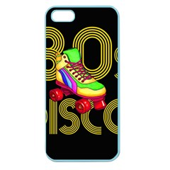 Roller Skater 80s Apple Seamless Iphone 5 Case (color) by Valentinaart
