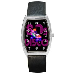 Roller Skater 80s Barrel Style Metal Watch by Valentinaart