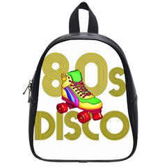 Roller Skater 80s School Bags (small)  by Valentinaart