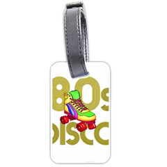 Roller Skater 80s Luggage Tags (one Side)