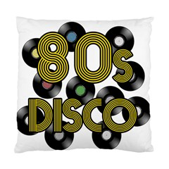 80s Disco Vinyl Records Standard Cushion Case (one Side)