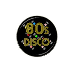80s Disco Vinyl Records Hat Clip Ball Marker (4 Pack) by Valentinaart