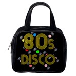 80s disco vinyl records Classic Handbags (One Side) Front
