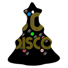 80s Disco Vinyl Records Ornament (christmas Tree)  by Valentinaart