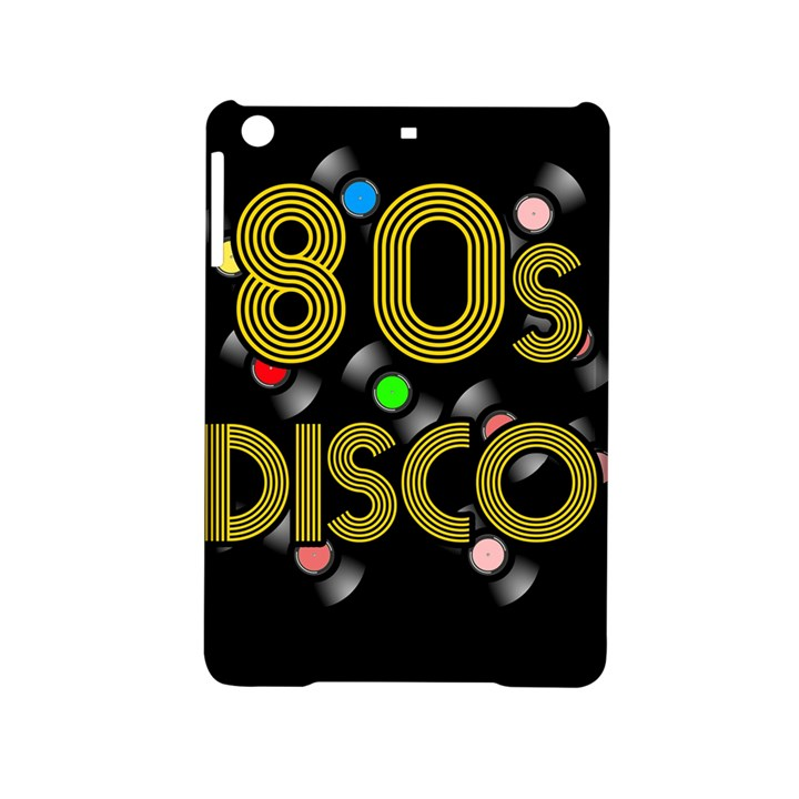 80s disco vinyl records iPad Mini 2 Hardshell Cases