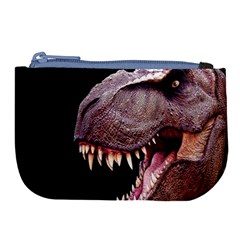 Dinosaurs T Rex Large Coin Purse by Valentinaart