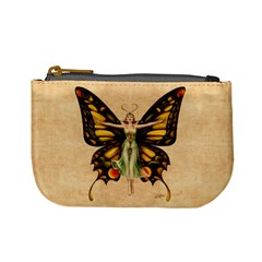 Butterfly Flapper Coin Change Purse by Ellador