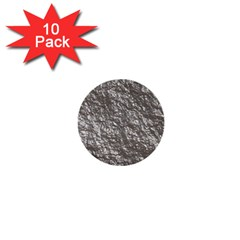 Crumpled Foil 17b 1  Mini Buttons (10 Pack)  by MoreColorsinLife