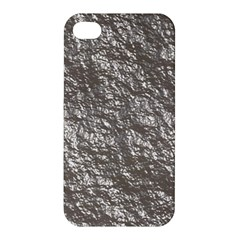 Crumpled Foil 17b Apple Iphone 4/4s Premium Hardshell Case by MoreColorsinLife