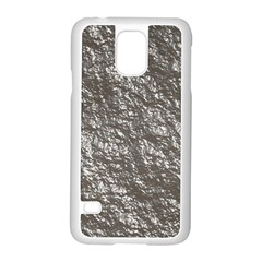 Crumpled Foil 17b Samsung Galaxy S5 Case (white) by MoreColorsinLife