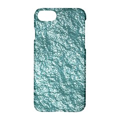 Crumpled Foil 17e Apple Iphone 7 Hardshell Case by MoreColorsinLife