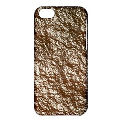 Crumpled Foil 17a Apple Iphone 5c Hardshell Case by MoreColorsinLife