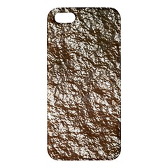 Crumpled Foil 17a Iphone 5s/ Se Premium Hardshell Case by MoreColorsinLife