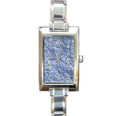 Crumpled Foil 17d Rectangle Italian Charm Watch