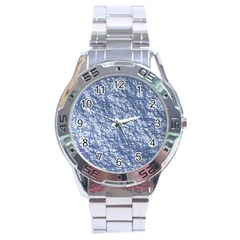 Crumpled Foil 17d Stainless Steel Analogue Watch by MoreColorsinLife