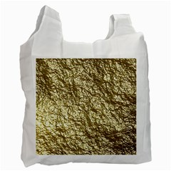 Crumpled Foil 17c Recycle Bag (one Side)