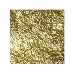 Crumpled Foil 17c Small Satin Scarf (square)