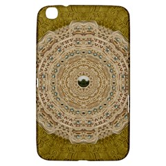 Golden Forest Silver Tree In Wood Mandala Samsung Galaxy Tab 3 (8 ) T3100 Hardshell Case  by pepitasart