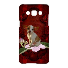 Sweet Little Chihuahua Samsung Galaxy A5 Hardshell Case  by FantasyWorld7