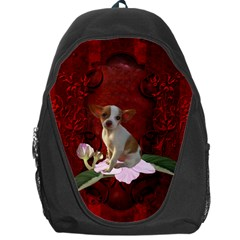 Sweet Little Chihuahua Backpack Bag by FantasyWorld7