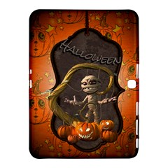 Halloween, Funny Mummy With Pumpkins Samsung Galaxy Tab 4 (10 1 ) Hardshell Case  by FantasyWorld7