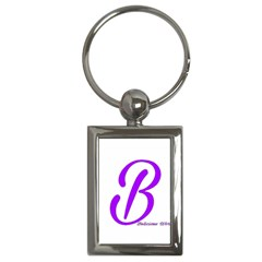 Belicious World  b  Purple Key Chains (rectangle)  by beliciousworld