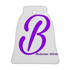 Belicious World  b  Purple Bell Ornament (two Sides) by beliciousworld